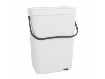 Závěsný odpadkový koš 10l bílý