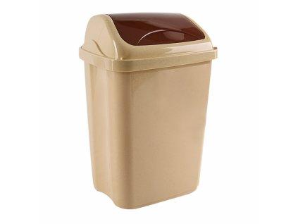 Odpadkový koš VITTARIO 16l béžový
