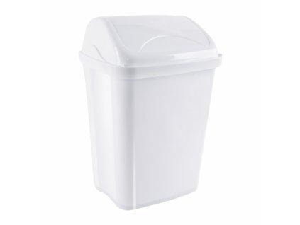 Odpadkový koš VITTARIO 16l bílý