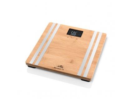 Osobní váha ETA Bamboo Fit 1779 90000, hnědá barva