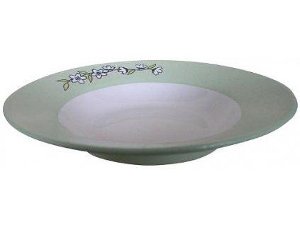Keramický talíř - hluboký, 23cm
