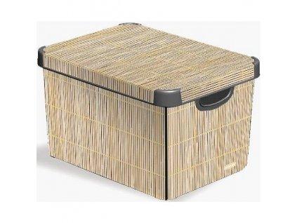 Úložný box Curver Bamboo 04711-D67, vel. L
