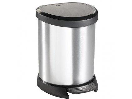 Odpadkový koš Curver 02160-599 Decobin 5 l