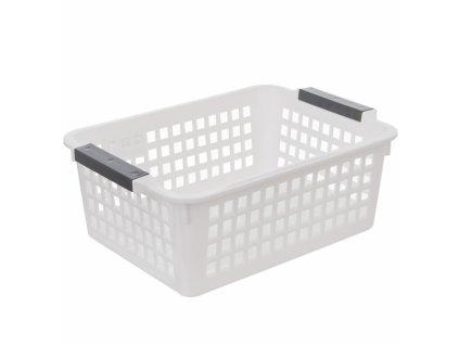 Plastový úložný košík, 27 x 19 cm