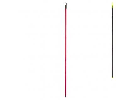 Náhradní kovová hůl se závitem na smeták, délka 130 cm