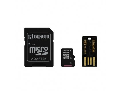 Paměťová karta Kingston Mobility Kit 32GB UHS-I U1 (30R/10W)