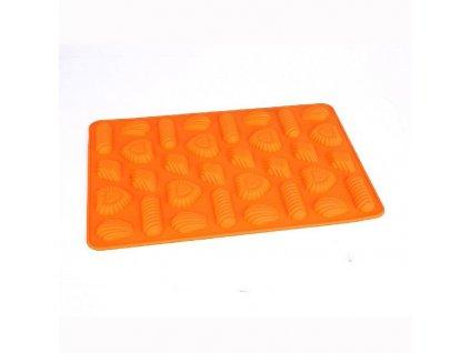 Silikonová pečící forma Pracky, 31 x 21 cm