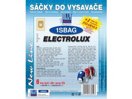 Sáčky do vysavače Jolly 1S BAG (6+1+1ks) do vysav. PHILIPS, ELECTROLUX, TORNADO, VOLTA