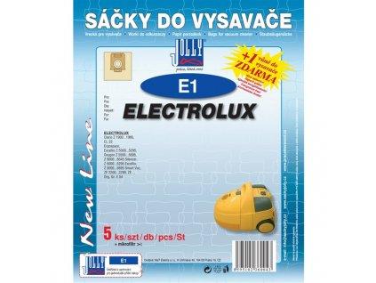 Sáčky do vysavače Jolly E 1 (5+1ks) do vysav. ELECTROLUX