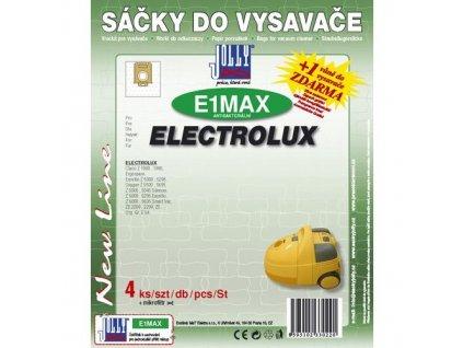 Sáčky do vysavače Jolly MAX E 1 (4+1ks) do vysav. ELECTROLUX