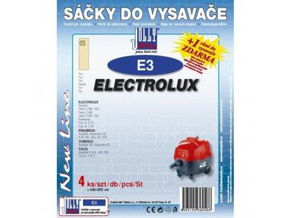Sáčky do vysavače Jolly E 3 (4+1ks) do vysav. ELECTROLUX