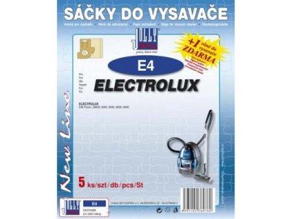 Sáčky do vysavače Jolly E 4 (5ks) do vysav. ELECTROLUX Praxio