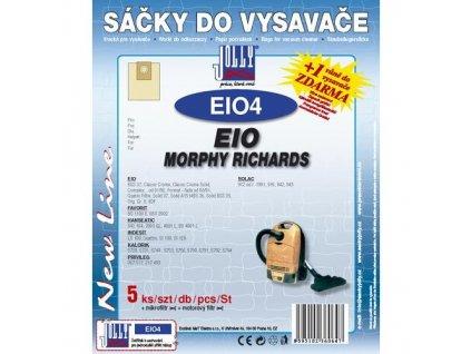 Sáčky do vysavače Jolly EIO 4 (5+1+1ks) do vysav. EIO, MORPHY RICHARDS