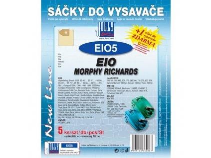 Sáčky do vysavače Jolly EIO 5 (5+1+1ks) do vysav. EIO, MORPHY RICHARDS