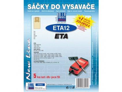 Sáčky do vysavače Jolly ETA 12 (5ks) do vysav. ETA