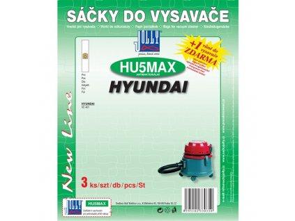Sáčky do vysavače Jolly MAX HU 5 (3ks) pro vysav. Hyundai VC 401