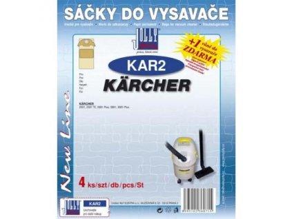 Sáčky do vysavače Jolly KAR2 (4ks) do vysav. Karcher
