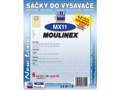 Sáčky do vysavače Jolly MX 11 (6+1ks) do vysav. MOULINEX
