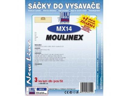 Sáčky do vysavače Jolly MX 14 (3+1ks) do vysav. MOULINEX