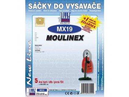 Filtr Jolly MX 19 (5+1ks) do vysav. MOULINEX