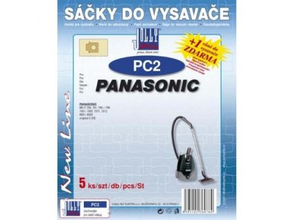 Sáčky do vysavače Jolly PC 2 (5ks) do vysav. PANASONIC