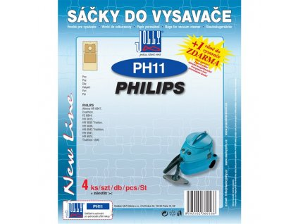 Sáčky do vysavače Jolly PH 11 (4+1ks) do vysav. PHILIPS