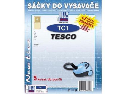 Sáčky do vysavače Jolly TC1 (5ks) do vysav. VC 206