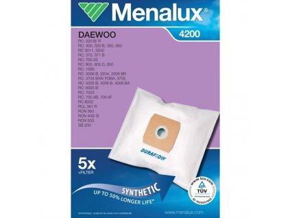 Sáčky do vysavače Menalux DCT 179 Duraflow (4200) do vysav.