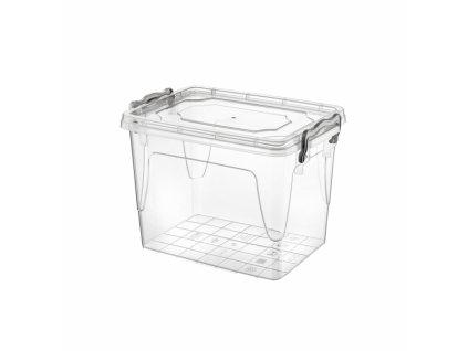Plastový úložný box s víkem, 1,45 l