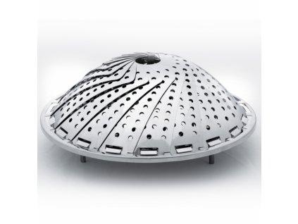 Skládací kovový pařáček, průměr 28 cm