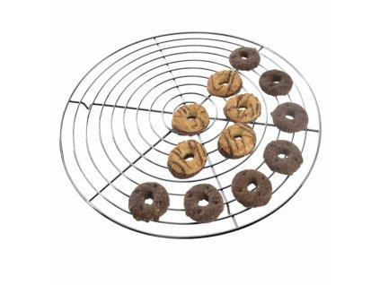 Drátěná podložka na cukroví, 32,5 cm