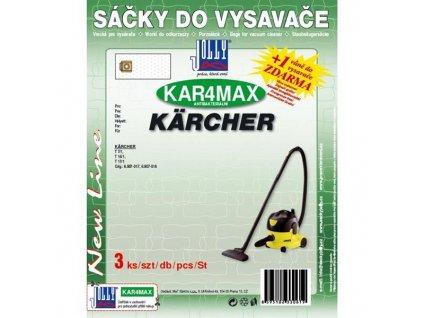 Sáčky do vysavače Jolly MAX KAR 4  (3ks) do vysav. Kärcher