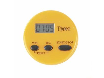 Digitální kuchyňská minutka, průměr 5 cm