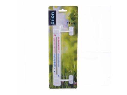 Plastový venkovní teploměr, délka 21 cm