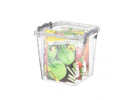 Multifunkční plastový box s víkem, 1,8 l