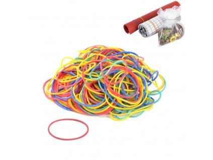 Sada barevných gumiček, 200 ks