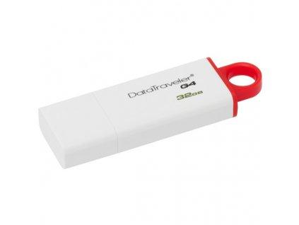 Flash USB Kingston DataTraveler G4 32GB USB 3.0 - červený