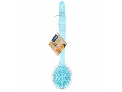 Plastový masážní kartáč, délka 35 cm