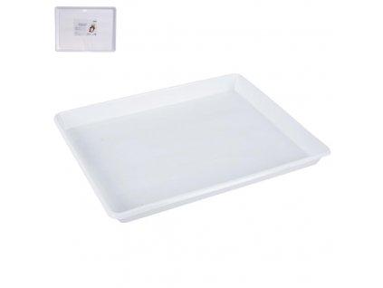 Plastový servírovací tác, 46 x 34,5 cm