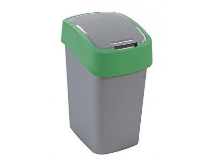 Odpadkový koš Curver 02170-P80 Flipbin 10 l