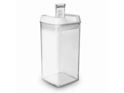 Plastová dóza s těsněním vysoká 1,4 l