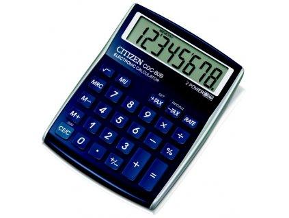 Kalkulačka Citizen CDC-80BL - modrá