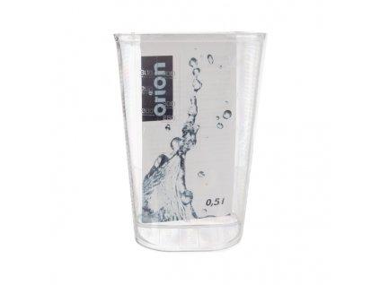 Plastová odměrka Corre 0,5 l