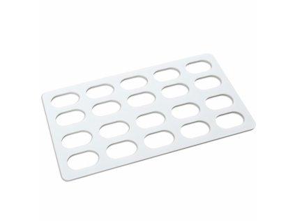 Plastová forma na malé laskonky 20 ks