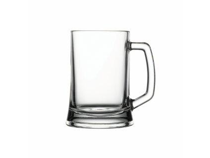 Pivní sklenice s uchem, 0,5 l
