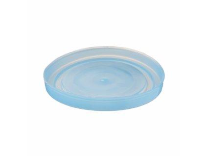Plastová zavařovací víčka Omnia o průměru 10 cm, 4 ks