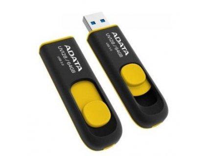 Flash USB ADATA UV128 64GB USB 3.0 - žlutý