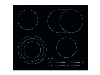 Sklokeramická varná deska AEG Mastery HK654070IB