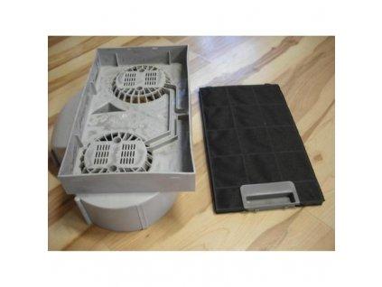 Uhlíkový filtr Guzzanti FW - KS 310 x 180 pro GSL 60W, GLS 60I