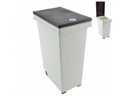 Plastový odpadkový koš Dust, 45 l